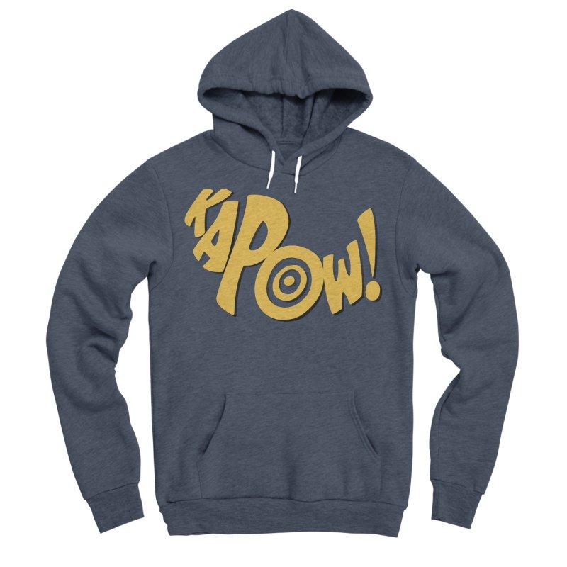 KaPow! Comic Book Sound Effect Women's Sponge Fleece Pullover Hoody by Dean Cole Design