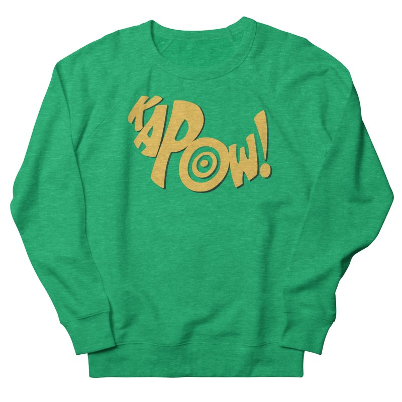 KaPow! Comic Book Sound Effect Women's Sweatshirt by Dean Cole Design