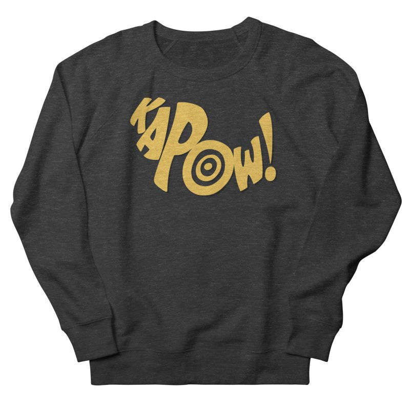 KaPow! Comic Book Sound Effect Men's Sweatshirt by Dean Cole Design