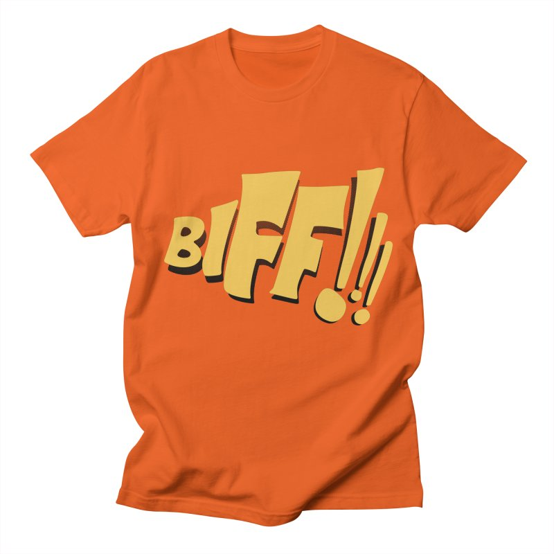 Biff!!! Comic Book Sound Effect Men's Regular T-Shirt by Dean Cole Design