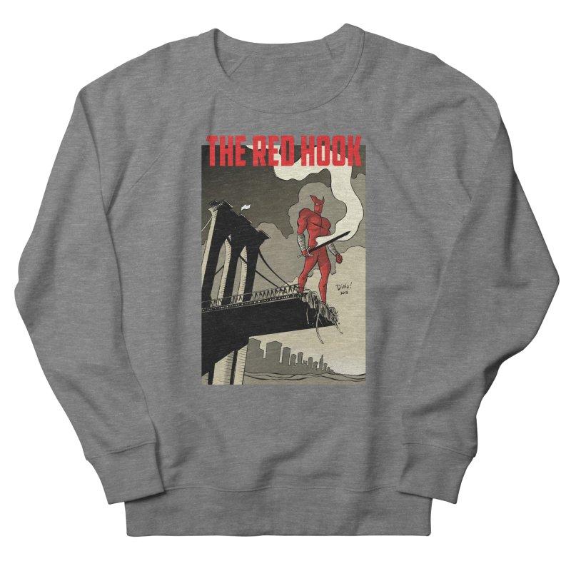New Brooklyn in Men's French Terry Sweatshirt Heather Graphite by Dean Haspiel