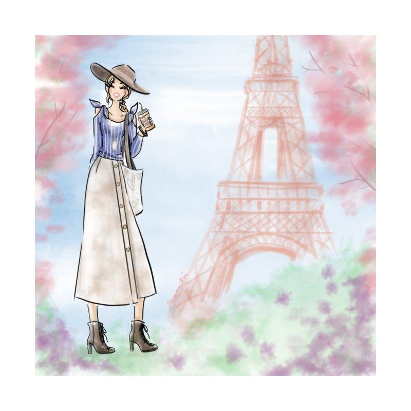 Springtime in Paris by deannakei's Artist Shop