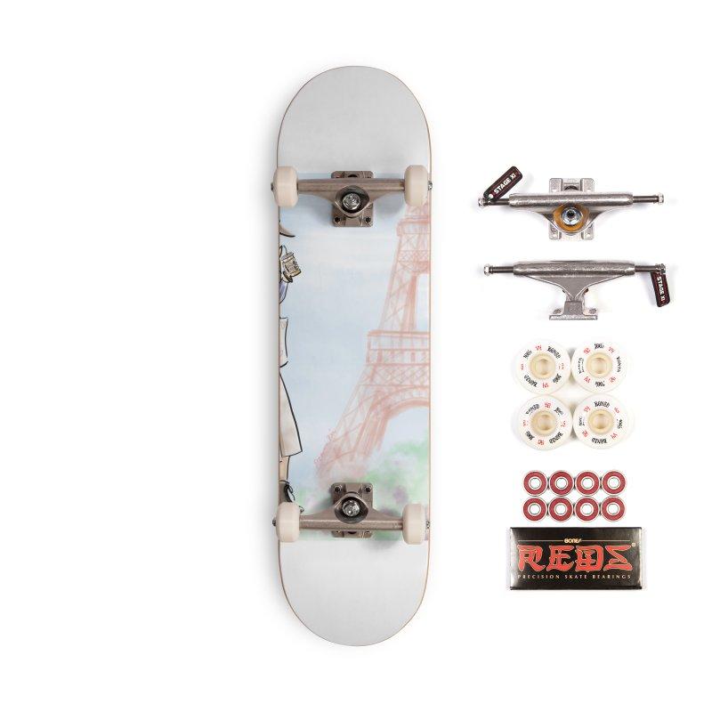 Springtime in Paris Accessories Complete - Pro Skateboard by deannakei's Artist Shop