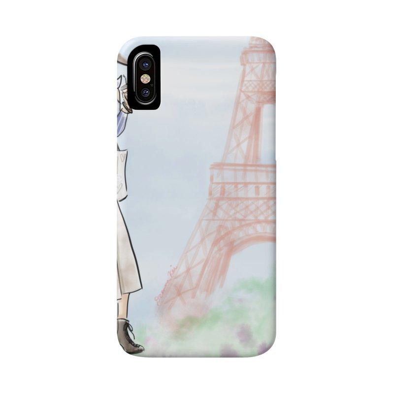 Springtime in Paris Accessories Phone Case by deannakei's Artist Shop