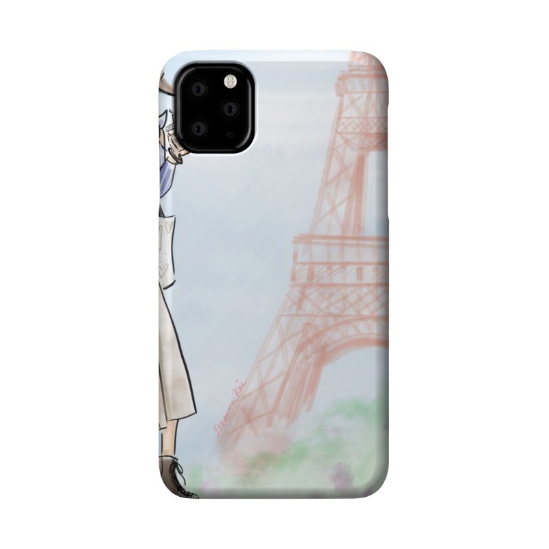 Springtime in Paris Accessories Phone Case by Deanna Kei's Artist Shop