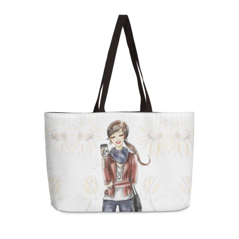 Fall Fashion Vibes Accessories Bag by Deanna Kei's Artist Shop