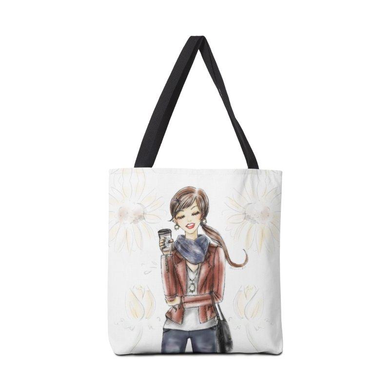 Fall Fashion Vibes Accessories Tote Bag Bag by Deanna Kei's Artist Shop