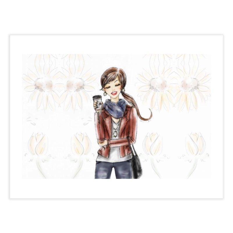 Fall Fashion Vibes Home Fine Art Print by deannakei's Artist Shop