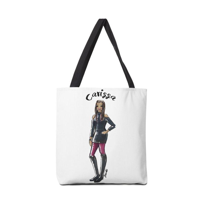 Custom Sketch - Carissa Accessories Tote Bag Bag by deannakei's Artist Shop
