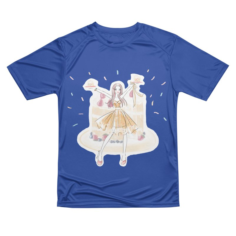 Funfetti Cake Girl Men's Performance T-Shirt by Deanna Kei's Artist Shop