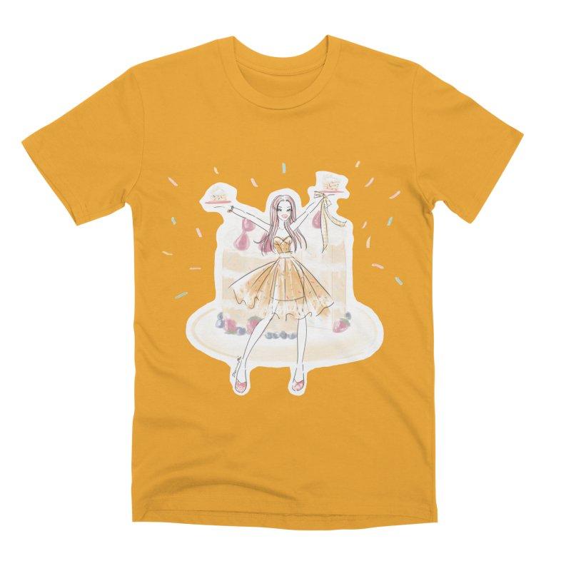 Funfetti Cake Girl Men's Premium T-Shirt by Deanna Kei's Artist Shop