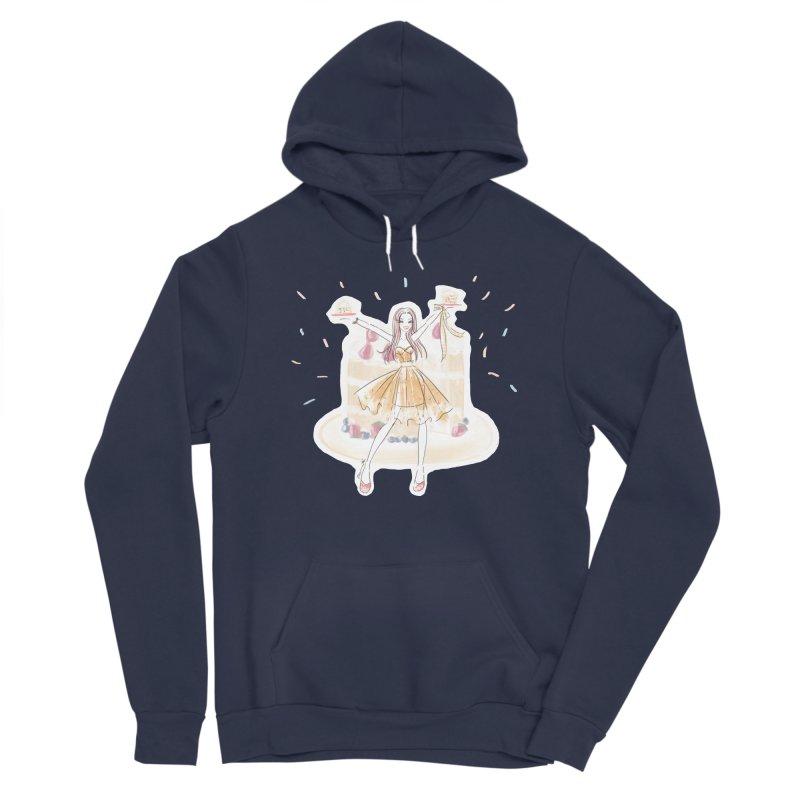 Funfetti Cake Girl Women's Pullover Hoody by Deanna Kei's Artist Shop