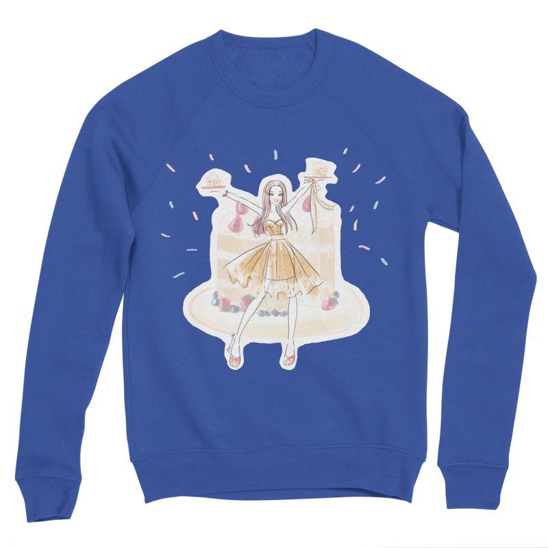 Funfetti Cake Girl Men's Sweatshirt by Deanna Kei's Artist Shop