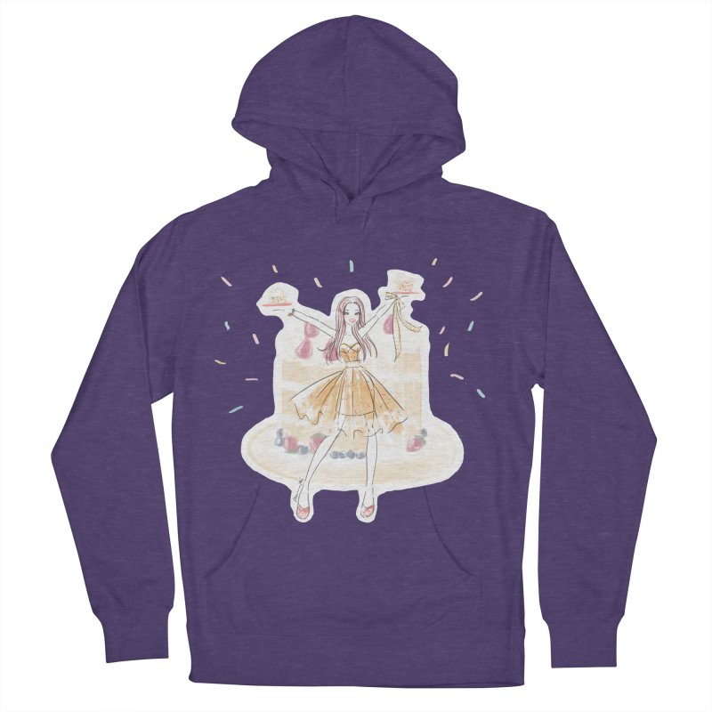 Funfetti Cake Girl Women's French Terry Pullover Hoody by Deanna Kei's Artist Shop