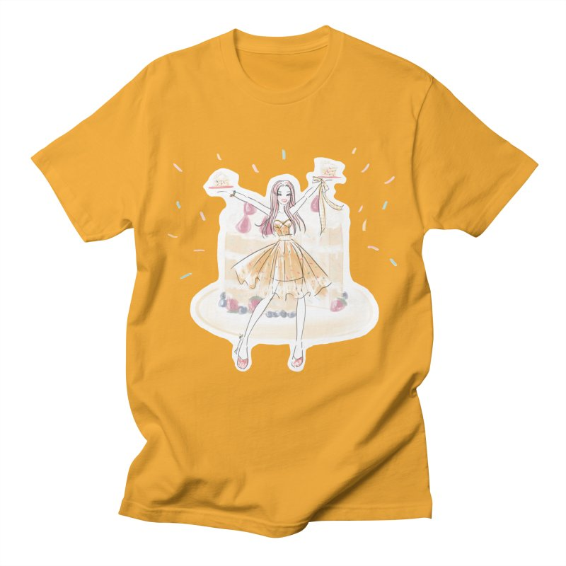 Funfetti Cake Girl Men's T-Shirt by Deanna Kei's Artist Shop