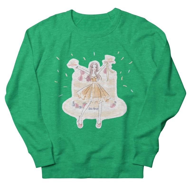 Funfetti Cake Girl Women's French Terry Sweatshirt by Deanna Kei's Artist Shop