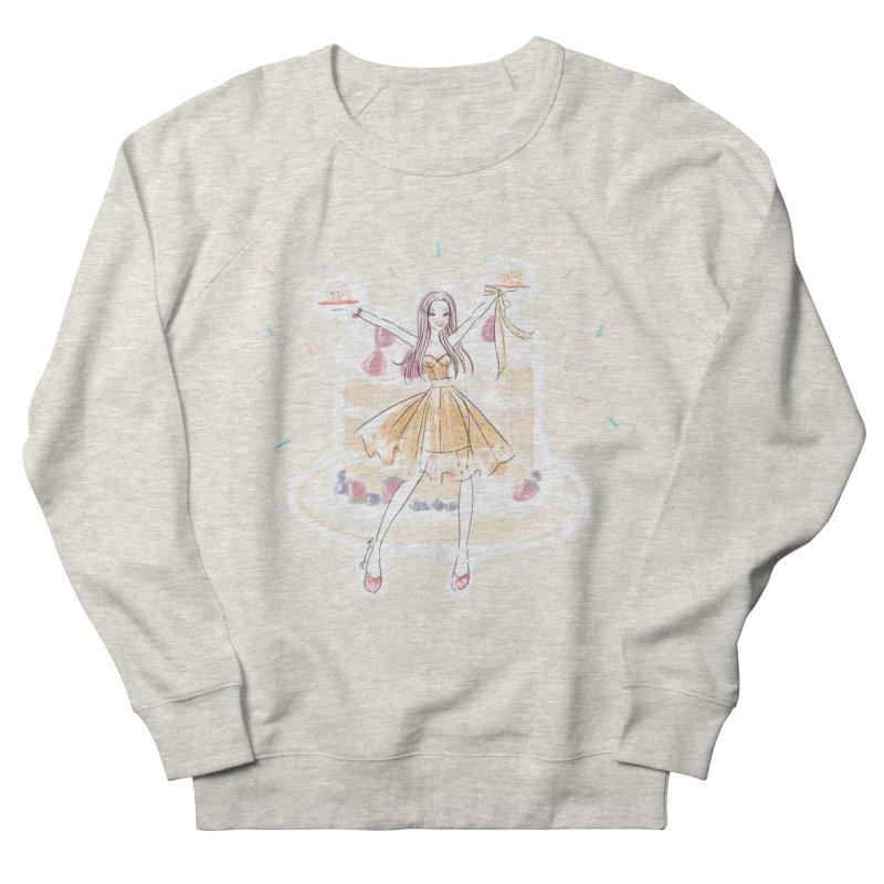 Funfetti Cake Girl Men's French Terry Sweatshirt by Deanna Kei's Artist Shop