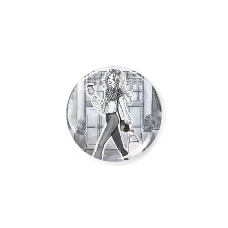 NYC Style Accessories Button by Deanna Kei's Artist Shop
