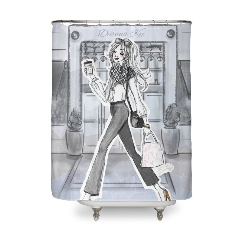 NYC Style Home Shower Curtain by Deanna Kei's Artist Shop