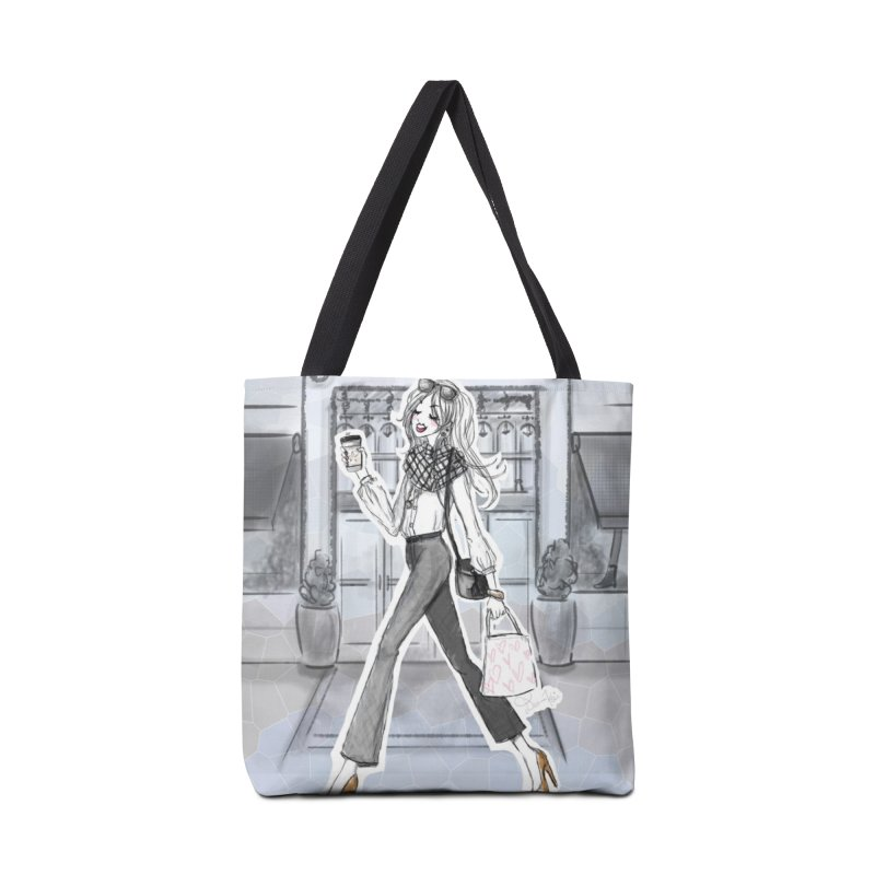 NYC Style Accessories Tote Bag Bag by Deanna Kei's Artist Shop