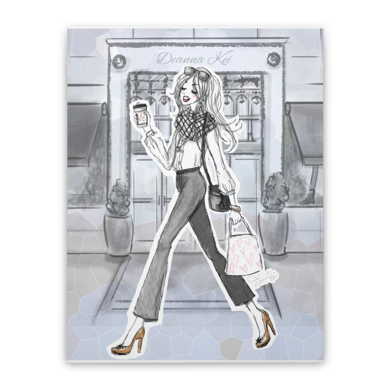 NYC Style Home Stretched Canvas by Deanna Kei's Artist Shop