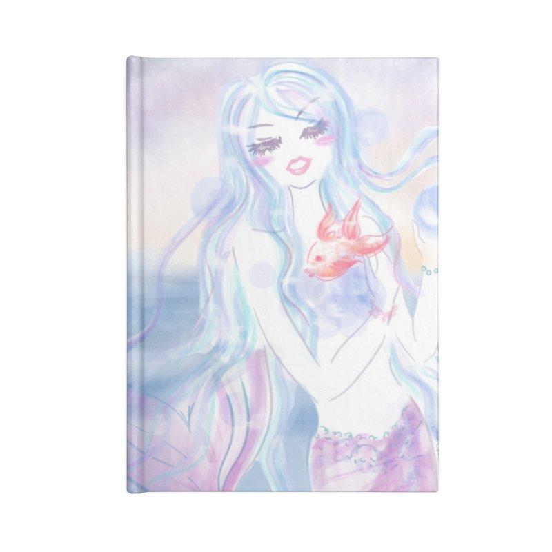 Pastel Mermaid Accessories Notebook by Deanna Kei's Artist Shop