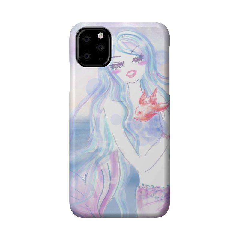 Pastel Mermaid Accessories Phone Case by Deanna Kei's Artist Shop