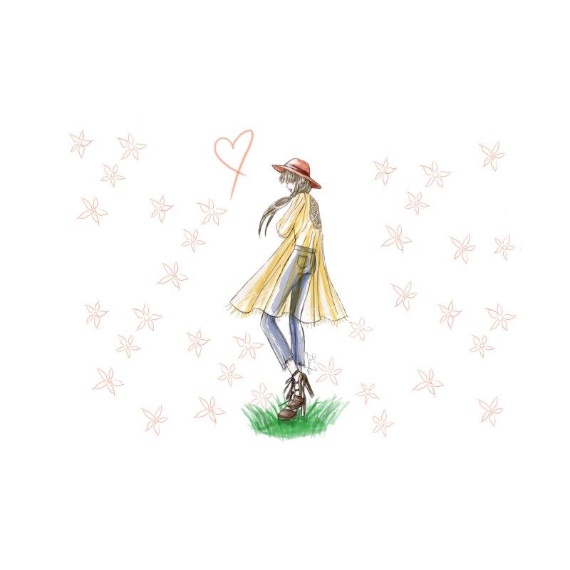 Festival Girl Accessories Sticker by Deanna Kei's Artist Shop