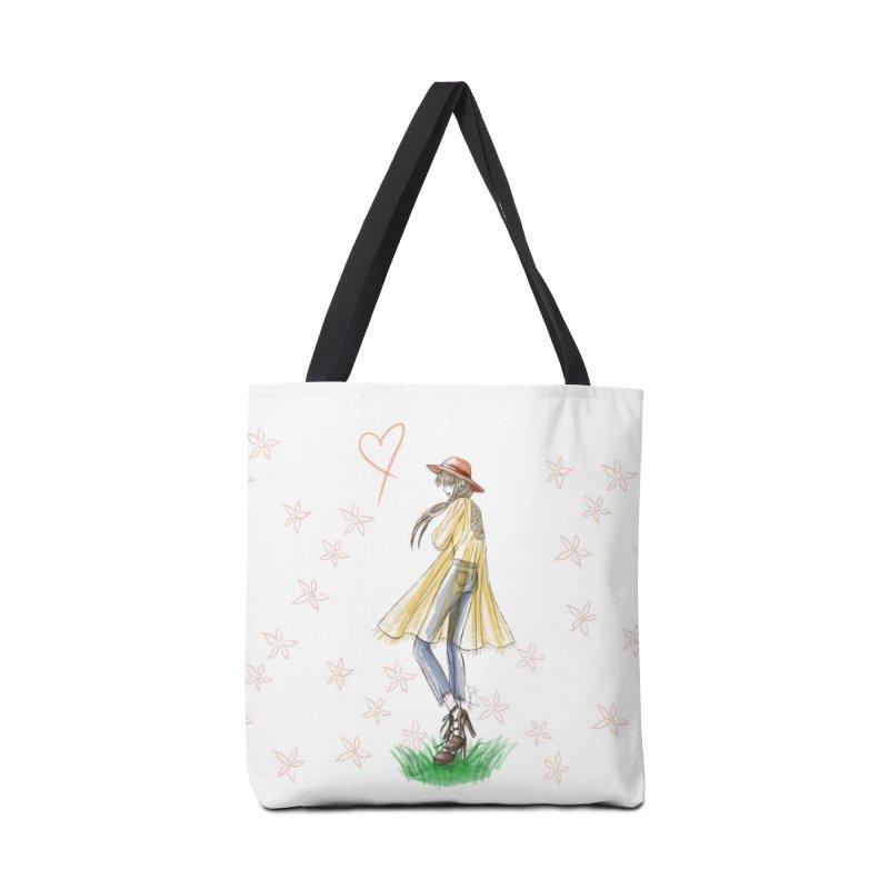 Festival Girl Accessories Tote Bag Bag by Deanna Kei's Artist Shop
