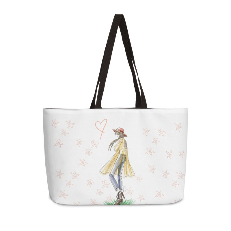 Festival Girl Accessories Weekender Bag Bag by Deanna Kei's Artist Shop