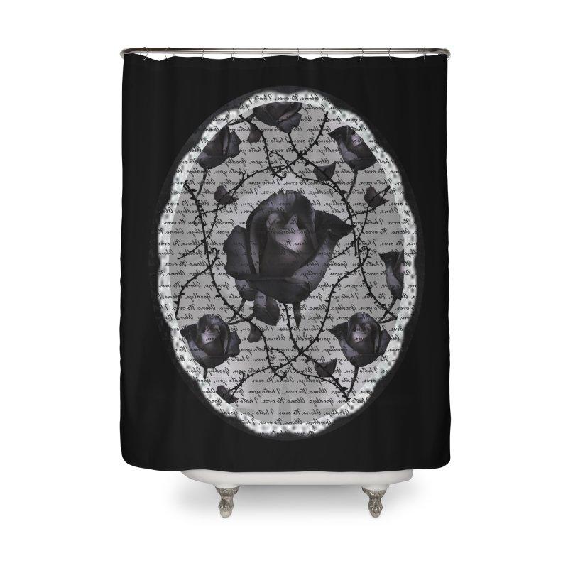 Bitter Rose - Version 2 Home Shower Curtain by Deanna Kei's Artist Shop