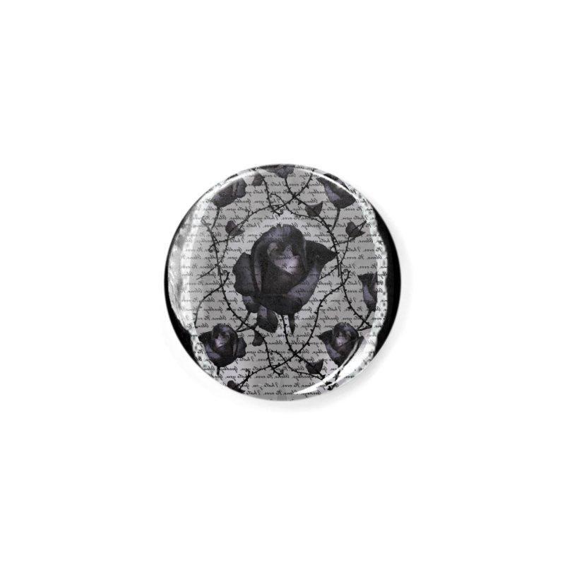 Bitter Rose - Version 2 Accessories Button by Deanna Kei's Artist Shop