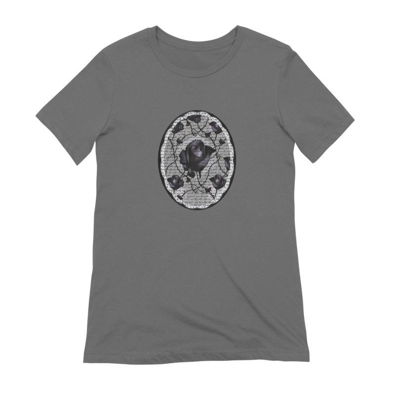 Bitter Rose - Version 2 Women's T-Shirt by Deanna Kei's Artist Shop