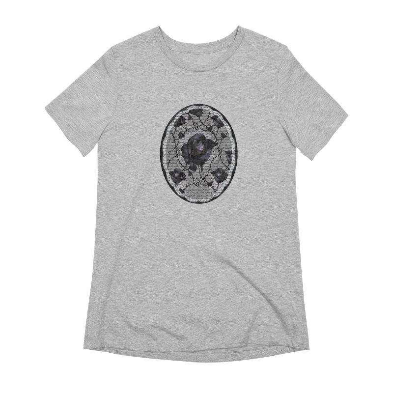 Bitter Rose - Version 2 Women's Extra Soft T-Shirt by Deanna Kei's Artist Shop