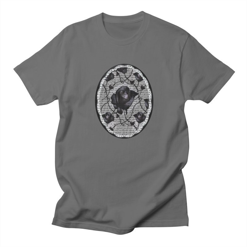 Bitter Rose - Version 2 Men's T-Shirt by Deanna Kei's Artist Shop