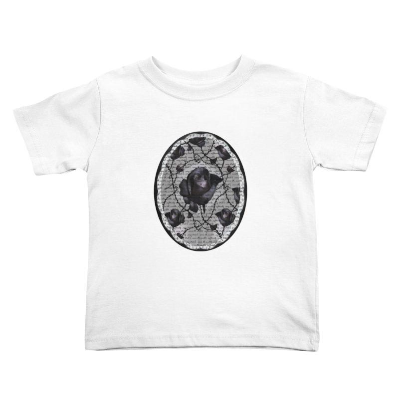 Bitter Rose - Version 2 Kids Toddler T-Shirt by Deanna Kei's Artist Shop