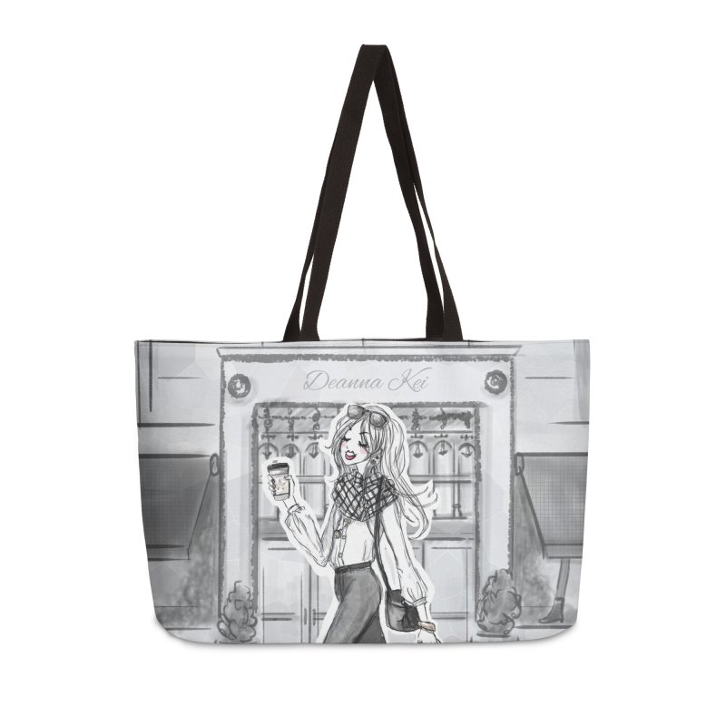 Deanna Kei Branded - New York Style Accessories Weekender Bag Bag by Deanna Kei's Artist Shop