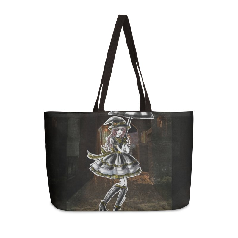 Yellow Hufflpuff Halloween Witch Accessories Weekender Bag Bag by Deanna Kei's Artist Shop