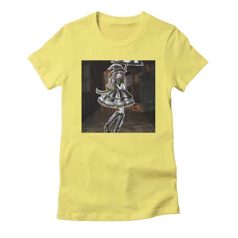 Yellow Hufflpuff Halloween Witch Women's T-Shirt by Deanna Kei's Artist Shop