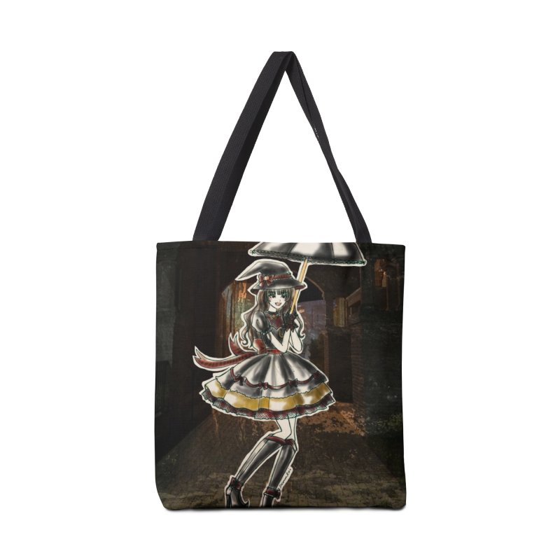 Red Gryffndor Halloween Witch Accessories Tote Bag Bag by Deanna Kei's Artist Shop