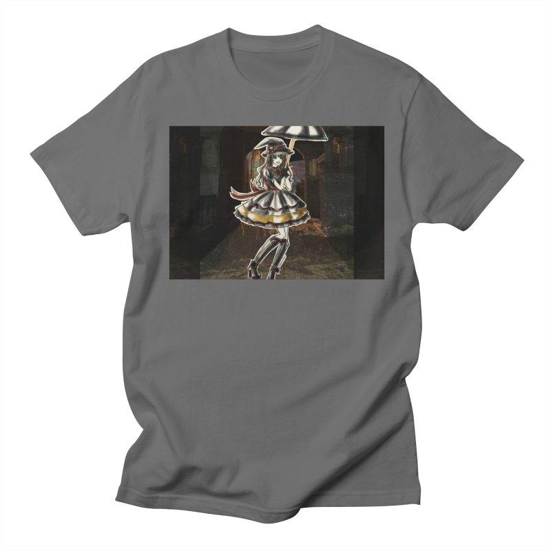 Red Gryffndor Halloween Witch Men's T-Shirt by Deanna Kei's Artist Shop