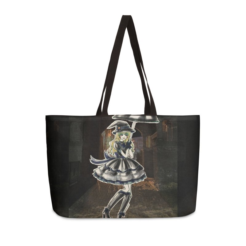 Blue Ravenclw Halloween Witch Accessories Weekender Bag Bag by Deanna Kei's Artist Shop
