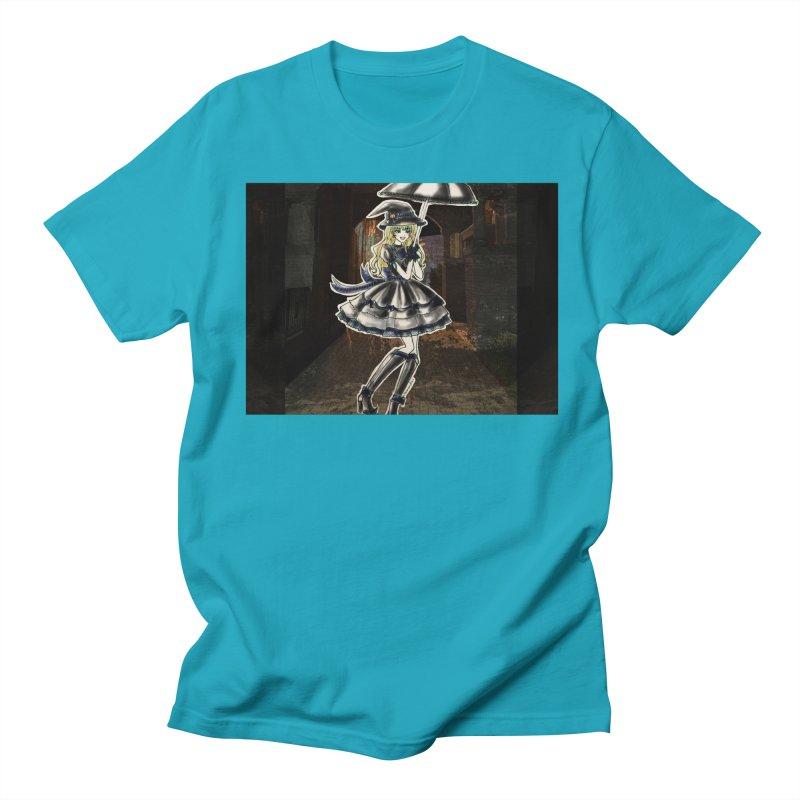 Blue Ravenclw Halloween Witch Men's Regular T-Shirt by Deanna Kei's Artist Shop