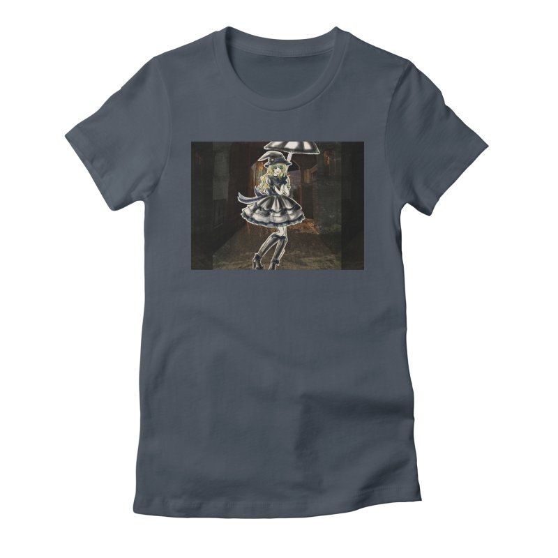 Blue Ravenclw Halloween Witch Women's T-Shirt by Deanna Kei's Artist Shop