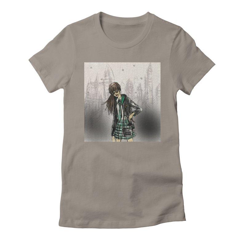 Slythern Wizardy Student Women's T-Shirt by Deanna Kei's Artist Shop