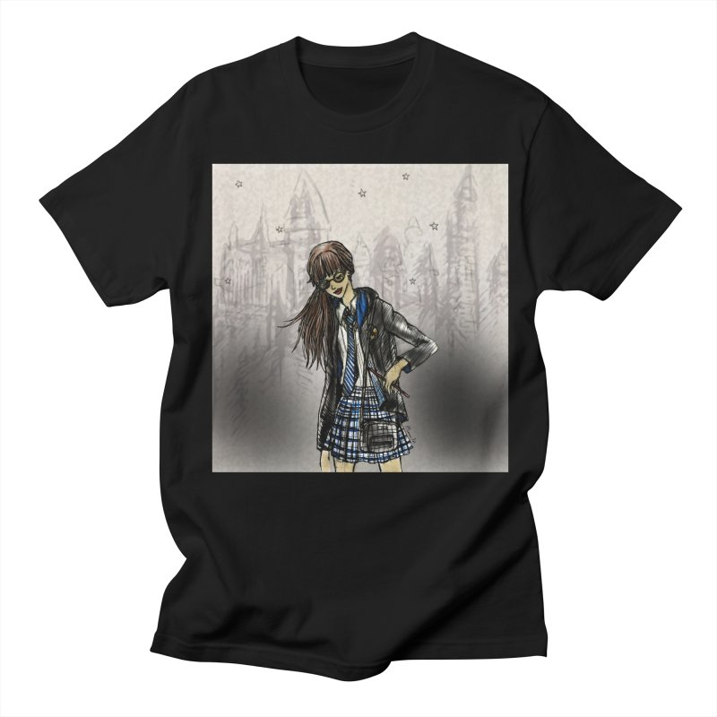 Ravenclw Wizardry Student Men's Regular T-Shirt by Deanna Kei's Artist Shop