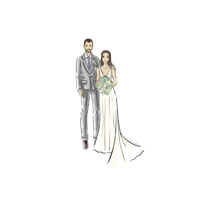 Custom Wedding by Deanna Kei's Artist Shop