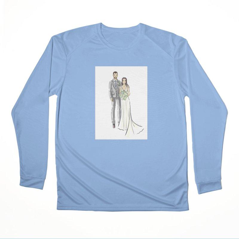 Custom Wedding Women's Longsleeve T-Shirt by Deanna Kei's Artist Shop
