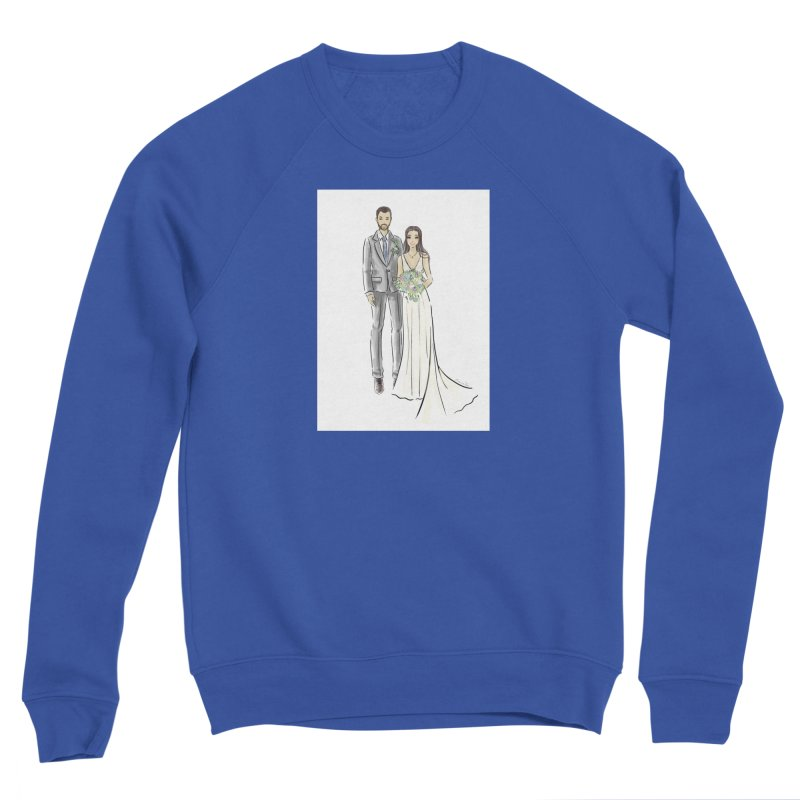 Custom Wedding Men's Sweatshirt by Deanna Kei's Artist Shop