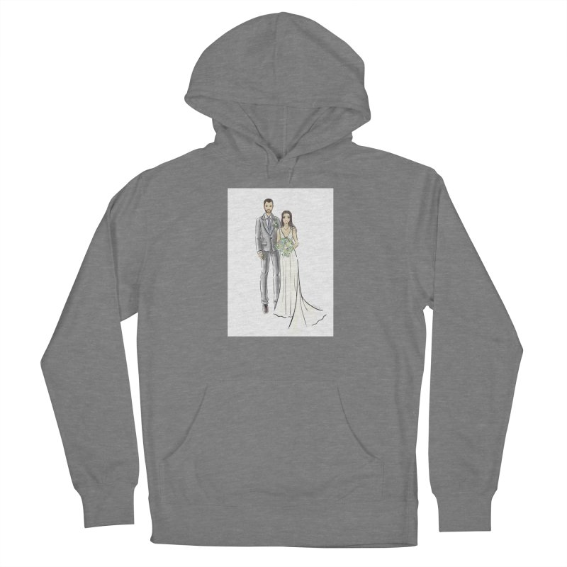 Custom Wedding Women's Pullover Hoody by Deanna Kei's Artist Shop